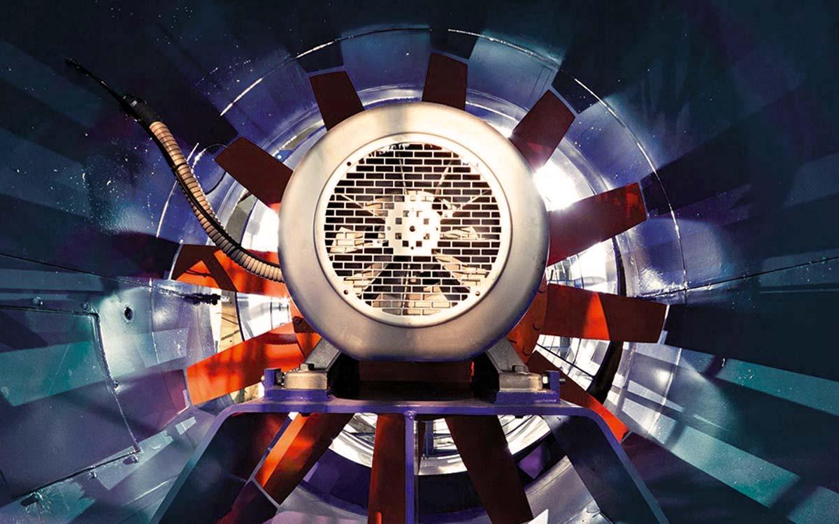 Индустриална вентилация